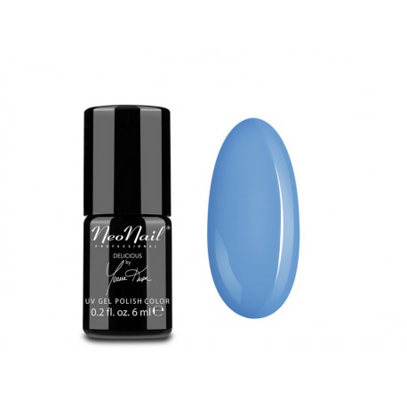 NeoNail Lakier Hybrydowy UV 6 ml 5639 Blue Cream Jelly