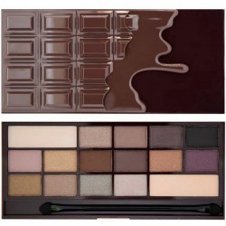 MakeUp Revolution I Heart Makeup Palette Death By Chocolate CZEKOLADA Paleta cieni do powiek