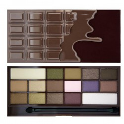 MakeUp Revolution I Heart Chocolate CZEKOLADA Paleta cieni do powiek