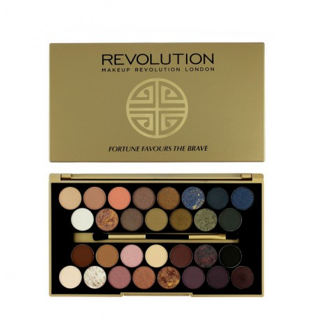 MakeUp Revolution Fortune Favours The Brave Paleta 30 Cieni