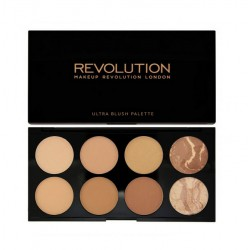 MakeUp Revolution Ultra Bronze All About Bronze Paleta bronzerów do twarzy