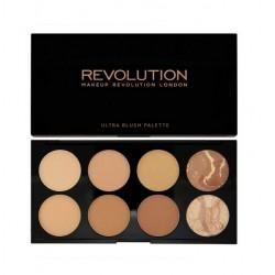 MakeUp Revolution Ultra Bronze All About Bronze Paleta bronzerów do twarzy