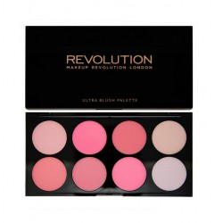 MakeUp Revolution Ultra Blush All About Pink Paleta róży do policzków