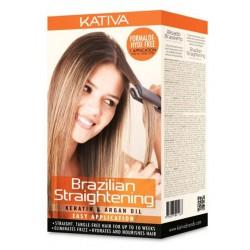 Kativa Brazilian Straightening Kuracja Keratynowa z Arganem