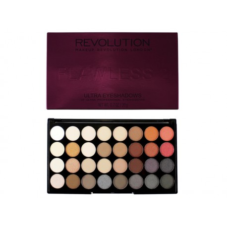 MakeUp Revolution Flawless 2 Paleta 32 Cieni do powiek
