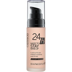 Catrice 24h Made To Stay Make Up Podkład 010 Nude Beige