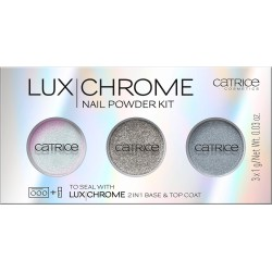 Catrice LuxChrome Nail Powder Kit Zestaw pudrów do paznokci 01 Effect Overlaod