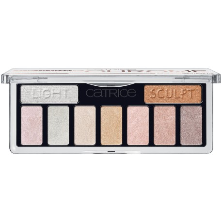 Catrice Paleta cieni do powiek The Ultimate Chrome Collection Palette 010 Heights And Lights
