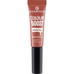 Essence Colour Boost Vinylicious Liquid Lipstick Pomadka w płynie 02 nude is the new cute