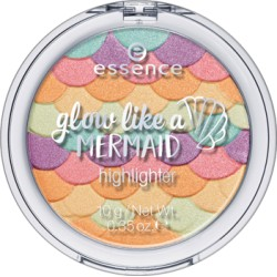 Essence Glow Like A Mermaid Highlighter Rozświetlacz do twarzy 10 Forever Mermaid