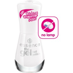 Essence The Gel Nail Polish lakier do paznokci 33 wild white ways