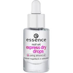 Essence Nail Art Express Dry Drops krople przyspieszające wysychanie lakieru