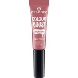 Essence Colour Boost Vinylicious Liquid Lipstick Pomadka w płynie 04 woody rosy