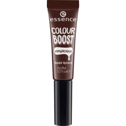Essence Colour Boost Vinylicious Liquid Lipstick Pomadka w płynie 10 I'm dark I'm back