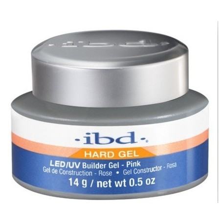 IBD Hard Gel LED/UV Builder Żel budujący Pink 14g