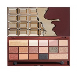 Makeup Revolution I Heart Makeup CZEKOLADA Gold 24k Paleta cieni do powiek