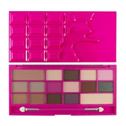 Makeup Revolution I Heart Makeup CZEKOLADA Chocolate Love Paleta cieni do powiek