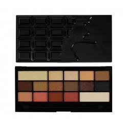 Makeup Revolution I Heart Makeup CZEKOLADA Chocolate Vice Paleta cieni do powiek