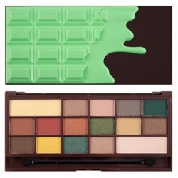 Makeup Revolution I Heart Makeup CZEKOLADA Golden Bar Paleta cieni do powiek