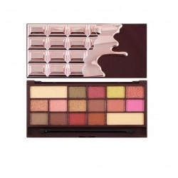 Makeup Revolution I Heart Makeup CZEKOLADA Rose Gold Paleta cieni do powiek