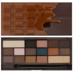 Makeup Revolution I Heart Makeup CZEKOLADA I Heart Chocolate Salted Caramel cieni do powiek