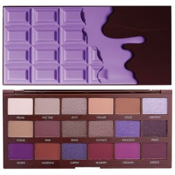 Makeup Revolution I Heart Makeup CZEKOLADA Violet Palette cieni do powiek