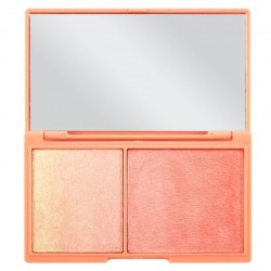 Makeup Revolution I Heart Revolution CZEKOLADA Peach And Glow Paletka do konturowania