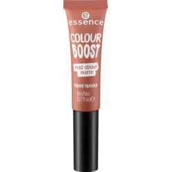 Essence Colour Boost Mad About Matte Pomadka w płynie 01 Dusty Romance