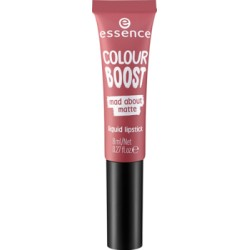 Essence Colour Boost Mad About Matte Pomadka w płynie 05 dangerously yours