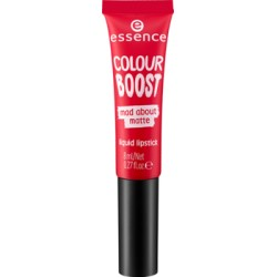 Essence Colour Boost Mad About Matte Pomadka w płynie 07 seeing red