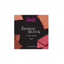 Bronzer Sleek MakeUp Bronze Block DARK Mozaika brązująca