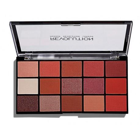 Makeup Revolution Re-loaded Newtrals 2 paleta cieni do powiek