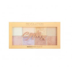 Makeup Revolution Soph X Highlighter Palette zestaw rozświetlaczy do twarzy
