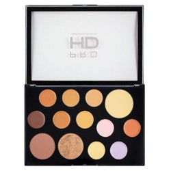 Makeup Revolution Pro HD Palette The Face Works Medium/Dark