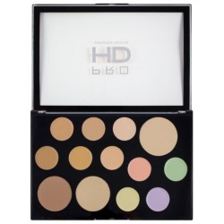 Makeup Revolution Pro HD Palette The Face Works Light/Medium