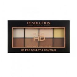Makeup Revolution Pro HD Sculpt & Contour Palette zestaw do konturowania twarzy