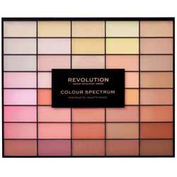 Makeup Revolution 40 Colour Spectrum Palette Paleta do konturowania twarzy
