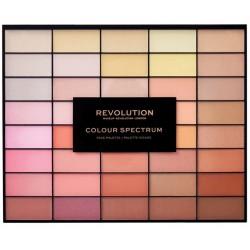 Makeup Revolution 40 Colour Spectrum Palette Paleta do konturowania twarzy