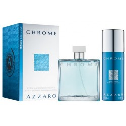 ZESTAW AZZARO Chrome EDT spray 100ml + DEO spray 150ml