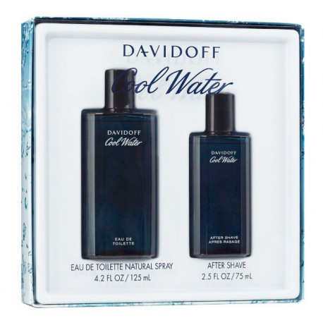 ZESTAW DAVIDOFF Cool Water Men EDT spray 125ml + AS 75ml