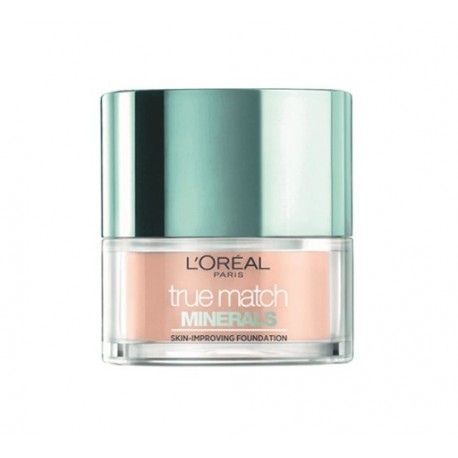 L'oreal Puder mineralny matujący True Match Minerals Skin-Improving 6N Honey