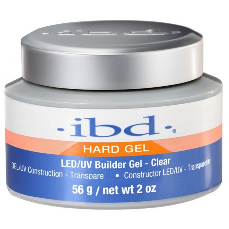 IBD Hard Gel LED/UV Builder Gel Clear żel budujący 56g