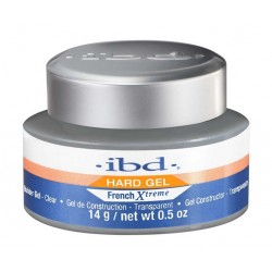 IBD Hard Gel French Xtreme Builder Gel UV Żel budujący Clear 14g