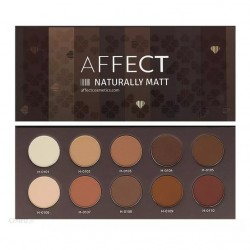 Affect Natural Matt Paleta 10 matowych cieni do powiek
