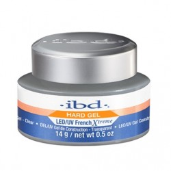 IBD Hard Gel LED/UV French Xtreme Żel budujący Clear 14g